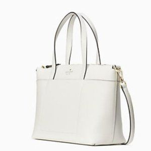NWT Kate Spade Patrice Satchel Optic White